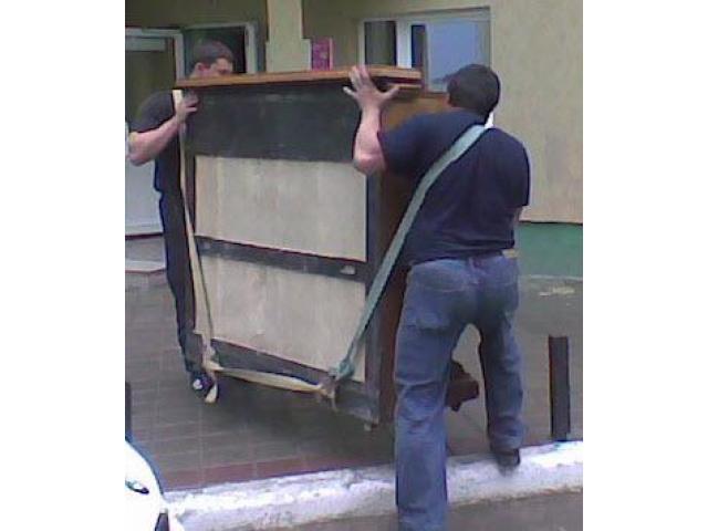 Перевозка пианино.